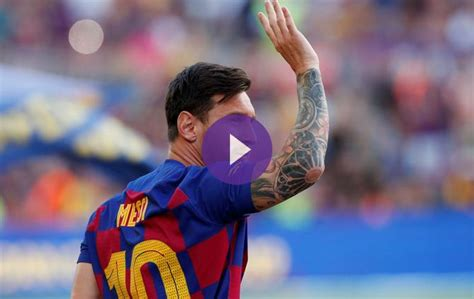 Messi Misses Barcelona Fans During COVID-19 Pandemic