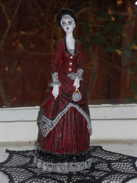 gothic resin doll  model  sculpture decorating