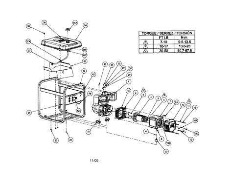 coleman generator powermate parts pm0525751