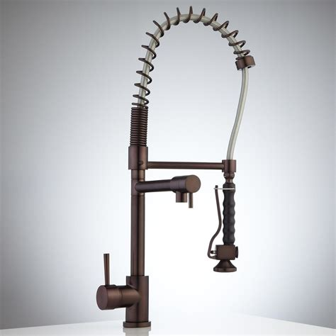 kitchen faucet industrial industrial looking kitchen faucets wooden wine glass rack
