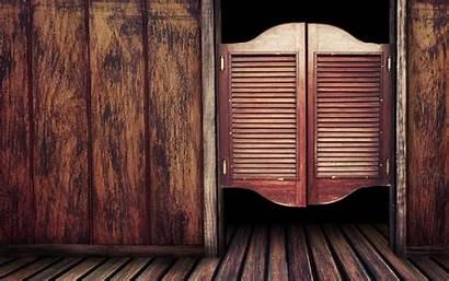 Western Country Wood Bar Doors