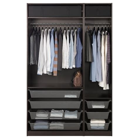 Black Brown Wardrobe Sale by Pax Wardrobe Black Brown Ikea