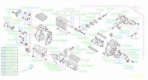 Subaru Forester Hvac Heater Core Clip