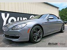 BMW 6 Series with 20in TSW Mechanica Wheels exclusively