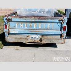 Chevy C10 Mark Tailgate Install  Hot Rod Network