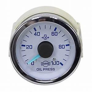 100 Psi Mechanical Oil Pressure Gauge
