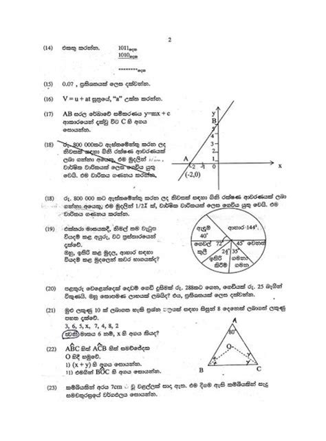 grade 9 science past papers sri lanka science and maths