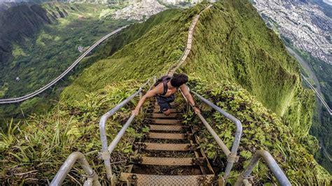 Stairway To Heaven The Haiku Stairs Youtube
