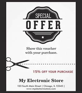 Printable Coupons Without Downloads 10 Tear Off Flyer Templates Free Printable Word Pdf