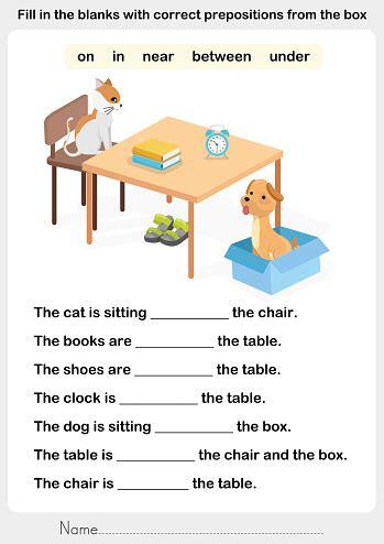 preposition clip art vector images illustrations istock