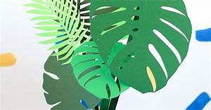 Botanical Paper Leaves DIY Hometalk