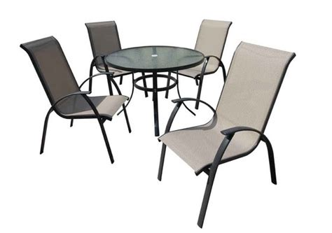outdoor furniture patio furniture 5 pc dining set