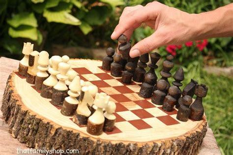 super easy wood log garden decorations