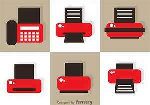 Fax And Print Icon Vectors - Download Free Vector Art ...