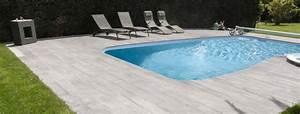 Margelle Piscine Grise : margelle piscine tous les conseils roc de france ~ Melissatoandfro.com Idées de Décoration