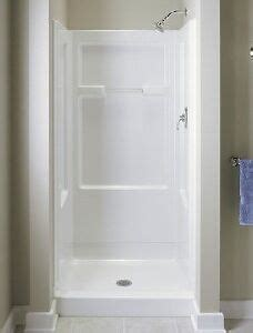 36 Shower Stall - sterling by kohler 36 quot white vikrell shower stall wall