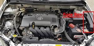 Fuse Box Diagram Toyota Corolla  E120  E130  2003