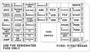 Fuse Box Diagram  U0026gt  Kia Soul  Ps  2014