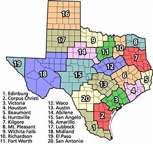 Texas School: Texas School Districts By Region