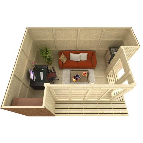 bureau de jardin bureau de jardin de 17 07m en bois massif 19mm tim plancher