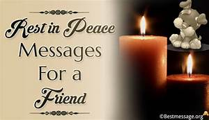 Expressive RIP ... Peace Friendship Quotes