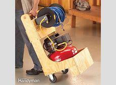 Air Compressor Cart The Family Handyman