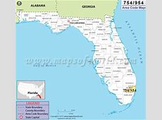 954 Area Code Map, Where is 954 Area Code in Florida