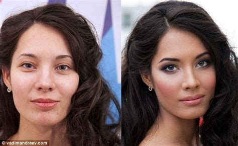 27 Unbelievable Before And After Make Makeup Photos I Can
