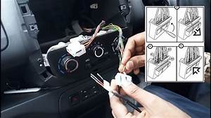 Rear View Camera Cable And Rear Speaker Cable Installation