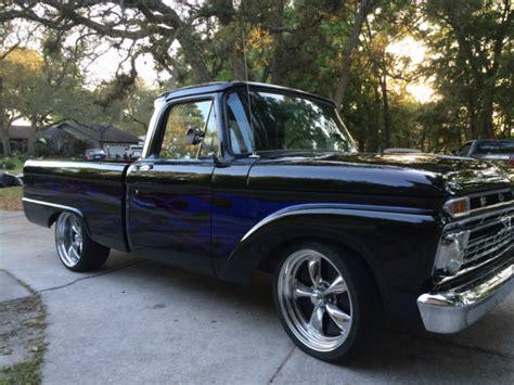 ford  custom cab swb hot rod truck