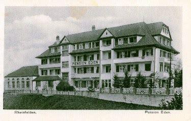 Neue Fricktaler Zeitung  100 Jahre Hotel Eden