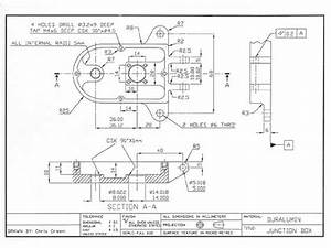 Cnc Engineering Link  Engineering Drawing