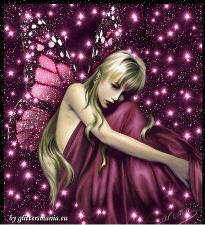 Fairy Butterfly Glitter Lovethispic Fairies Fee Graphics