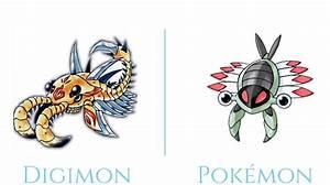 pokemon that look like digimon part 1