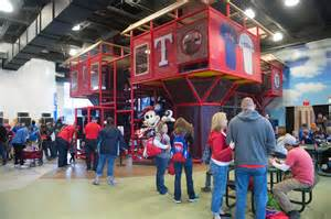 Texas Rangers Kids Zone