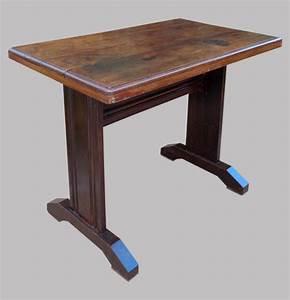Table Bistrot Ancienne : table de bistrot ancienne des ann es 1950 en bois sombre ~ Melissatoandfro.com Idées de Décoration