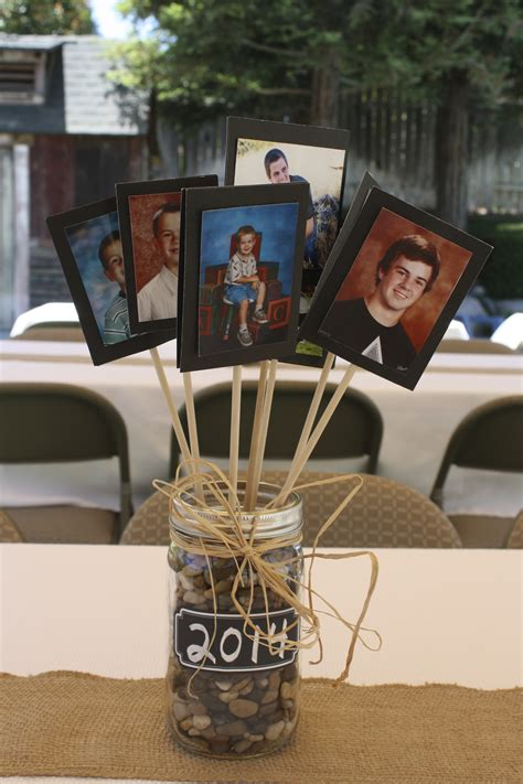 graduation decoration ideas for guys centerpiece for tables at a graduation for