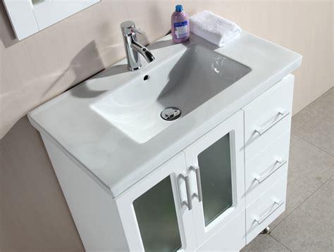 30 inch bathroom sink 32 quot stanton single drop in sink vanity b30 ds w