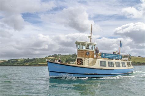 Boat Trip Cornwall by St Mawes Ferry Linking Falmouth St Mawes Boat Trips