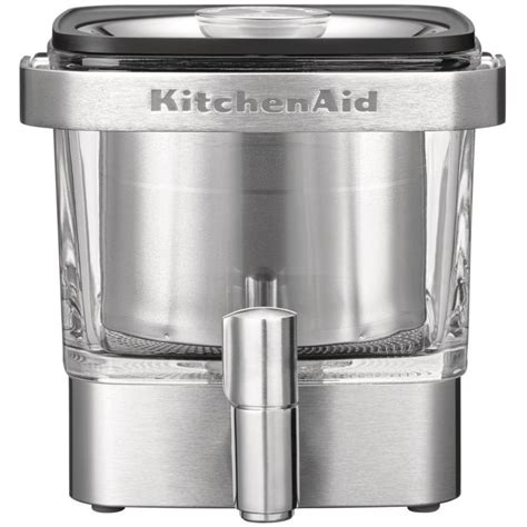 There are a few different things to consider when choosing the right machine for you. Kitchenaid KCM4212SX Cold Brew Coffee Maker, Home ...