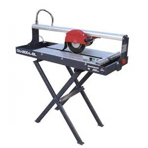 rubi du 200 l bridge wet saw stand 110v 25989k 600mm cut
