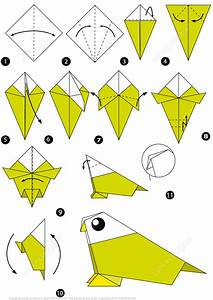 How To Make An Origami Bird Step By Step Instructions