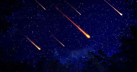 Shooting Stars and Meteor Showers
