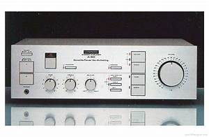 Pioneer A-60 - Manual - Stereo Integrated Amplifier