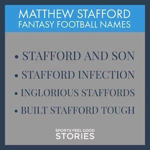 fantasy football team names  funny good