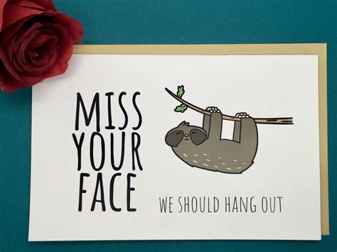 Make unique custom cards in minutes using photos, add designs, text + embellishments. Printable Miss You Cards | Printable Card Free