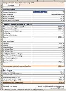 Stunden Berechnen Excel : excel vorlage zur berechnung von urlaubsr ckstellungen ~ Themetempest.com Abrechnung