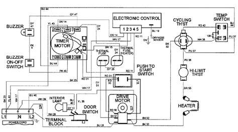 maytag dryer wiring schematic  wiring diagram