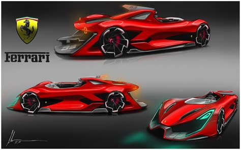 ferrari sketch on behance car design 6 lamborghini