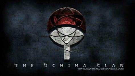 uchiha clan text crest symbol mangekyou sharingan